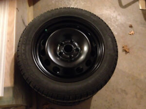 Winter Tires and Rims (Set of 4)