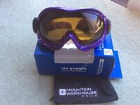 MOUNTAIN WAREHOUSE GOGGLES ONE SIZE IN PURPLE