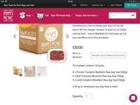 Poppys picnic raw dog food