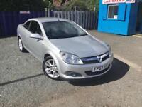 Vauxhall/Opel Astra***TWINTOP 1.8 VVT DESIGN ***3 MONTHS WARRANTY ***FINANCE