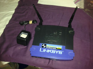 Lynksys wireless Router with 4 port switch