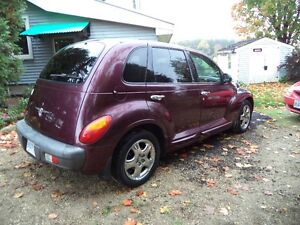 2002 Chrysler PT Cruiser limited edition Wagon