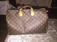 Genuine designer Louis Vuitton bag with receipt