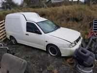 Seat Inca diesel vw caddy van spares or repair whole car only unfinished project