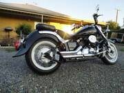 2014 YAMAHA XVS 650 V STAR CLASSIC LAMS APPROVED CRUISER WITH REG Hendon Charles Sturt Area Preview