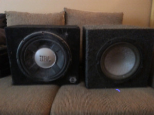 2 subs in sealed enclosures