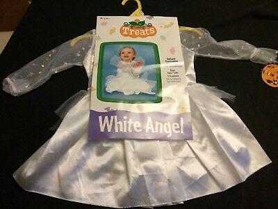 L@@K INFANT WHITE ANGEL 3-12 MONTH HALLOWEEN - Angel Infant Costume