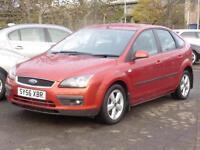 Ford Focus 1.6 2006, Zetec Climate, 5 Door Hatch,Red,,6 Months AA Warranty,