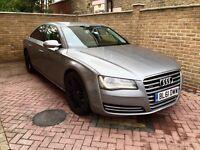 Audi A8 2012, Quattro, 3.0TD, Full Service History
