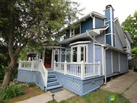 Old Strathcona home on the Mill Creek Ravine, Premiere Location