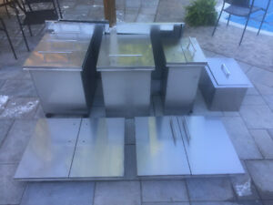 Sunstone Stainless Steel Outdoor Kitchen Pieces
