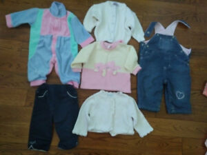 Girl Clothes in excellent condition. 3-6 Months