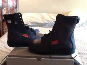 Steel-Toed Safety Boots - High Cut