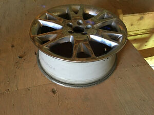 "18"" chrome rims in great condition. Cambridge Kitchener Area image 2"