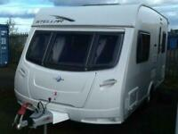 Lunar 2010 stellar 2 berth end kitchen small light weight fitted mover