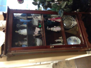 Antique display cabinet