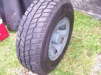 toyota 15 inch rims and winter ice tires