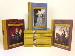 Set of 9 THE ROYAL DIARIES History Books for Girls Ages 8-12