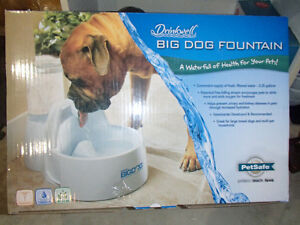 Water fountain / Waterfall Dog Dish Bowl
