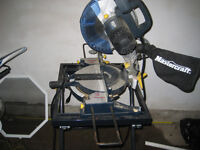 Mastercraft Mitre Saw With Stand