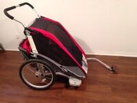 Like new Thule Chariot Cougar 2 Double