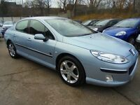Peugeot 407 Zenith HDI(FULL LEATHER SEATS + 1 OWNER) (aluminium/silver) 2006