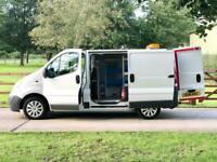 Vauxhall Vivaro / Renault Trafic / Nissan Primastar Workshop Van.