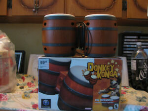 Donkey Kong Bongos Drums With Box Game Cube