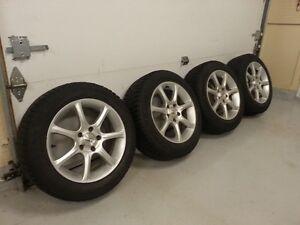 "16"" Wheels/Jantes, 225/55R16 Winter/hivers Pirelli Carving Edge"
