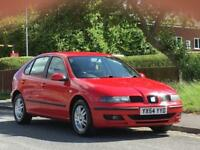 Seat Leon 1.6 16v 2004MY SX,GOOD SERVICE HISTORY,MOT JUNE 2019
