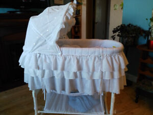 Bassinet, Bedside Sleeper and Changing Table