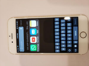 Gold  IPHONE 6s 32gb UNLOCKED WITH BOX IN MINT CONDITION