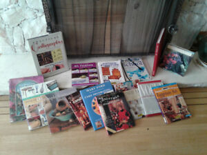 Box of Assorted Arts & Crafts Books