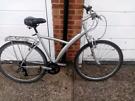 B twin decathlon conception hybrid bike, good form of exercise