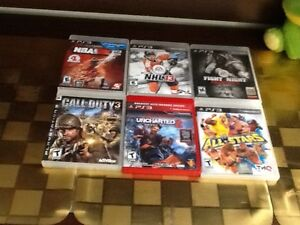 Nba2k12,nhl13,cod 3, uncharted 2 and other