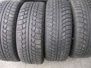4 PNEUS 205 55 R 16 GISLAVED NORD FROST 5+ JANTES