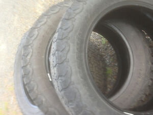 4 275/60R20 bf goodrich at t/a tires
