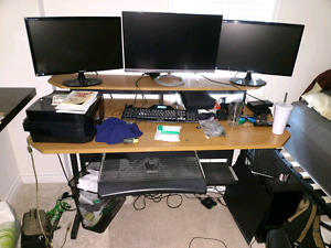 "2 Samsung 23"" LED Monitors 1080p"