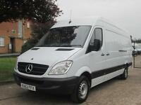 2012 12-REG Mercedes Benz Sprinter 313CDI LWB. EXTREMELY CLEAN. £179 P/MONTH