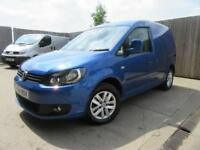 VW VOLKSWAGEN HIGHLINE CADDY VAN DSG (AUTO) C20 1.6 TDI 102 BHP FULL VW S/H VGC