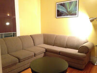 CANAPÉ LIT SECTIONELLE/ large sectional pull out couch