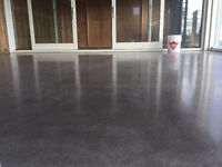 Concrete Polishing, Epoxy, Sealer, Dye