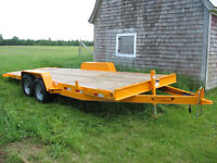 *NEW* EQUIPMENT TILT TRAILER - 14,000LBS - 20 FT