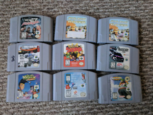 N64 games, consoles, controllers and more