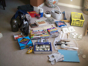 Box of over 55 household items-that's $1/item:  NOTE:  THE GAME