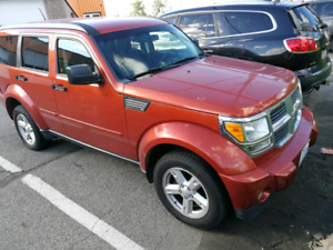 Dodge nitro 2007 4x4 low mileage