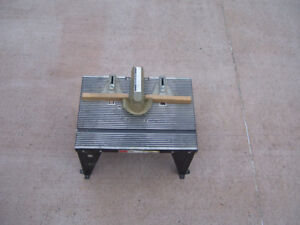 Metal Rotor Table by Sears