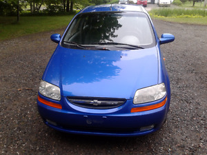 2004 Aveo Chevrolet Familiale (Hatchback)