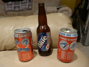 World Series Bottle and Cans