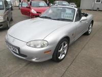 2002 Mazda MX-5 1.8i Sport 1 OWNER, LEATHER, LONG MOT, LOW MILEAGE